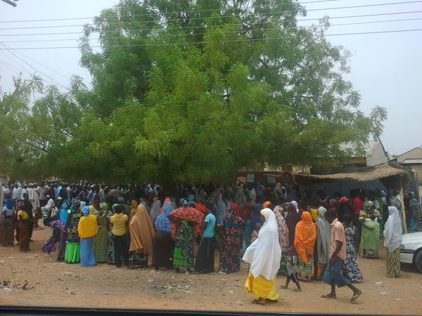 Women Women Of Africa on voting day Waiting People Watching Popular Photos