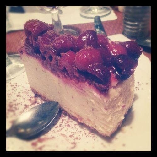 Raspberrymojito Cheesecake Dessert