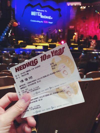 윤도현. 조승우. 오늘은 세번째 헤드윅 최재웅. Show Inspiration Musical Hedwig