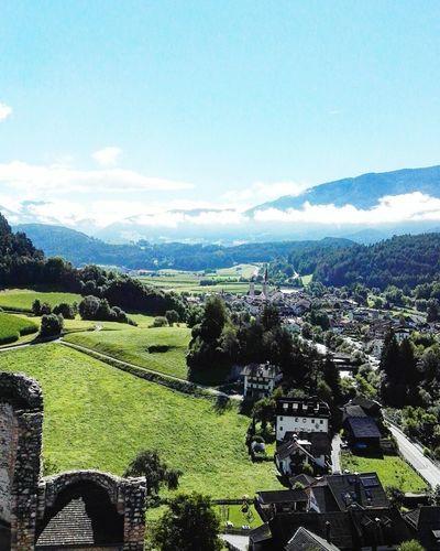 Room View. Nature Sky Landscape Beauty In Nature Day Green Color Tree Altoadige Alto Adige Altoadigedavivere Altoadigedascoprire Val Pusteria