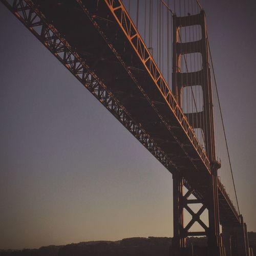 Bridge - Man Made Structure Architecture Engineering Connection Built Structure Low Angle View Outdoors Sky No People Railroad Bridge Day Railway Bridge Golden Gate Bridge