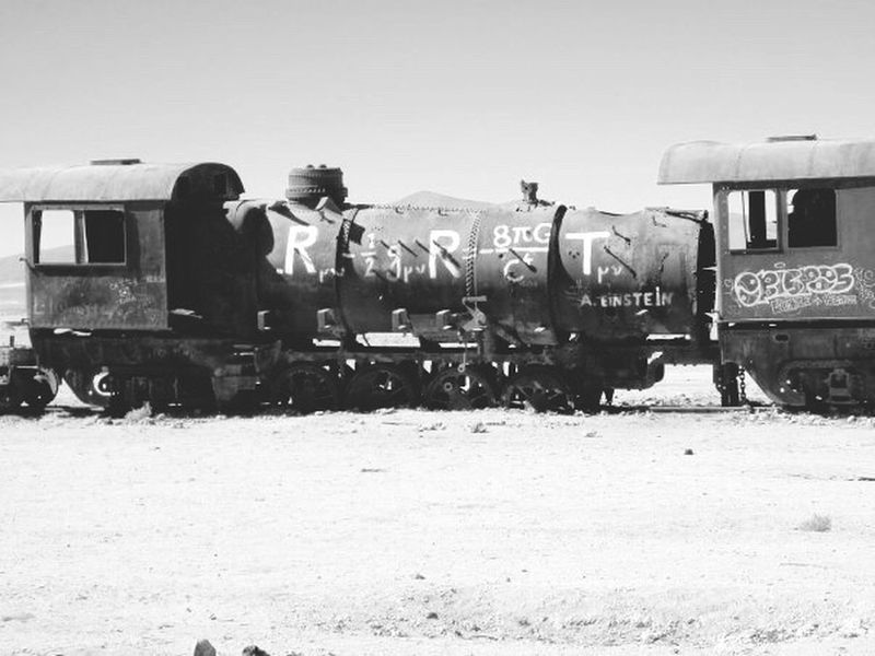 Blackandwhite Black And White Black & White Blackandwhite Photography Black&white Traveling Old Pic  Train Graffiti Graffiti Art Desert Desert Life Deserts Around The World Derelict Train Graveyard  Train Graffiti  Uyuni Black And White Photography Blackandwhitephotography Abandoned Abandoned Places Abandoned & Derelict EyeEm Best Shots EyeEm Gallery EyeEm