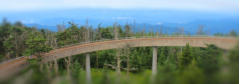 Blue Ridge Mountains Smoky Mountains Walkways  Curve Day Landscape Mountain Nature Outdoors Scenics Sky Transportation Tree Winding Road