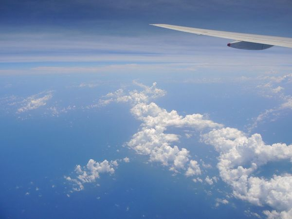 SQ Singapore Boeing777 Clouds And Sky Clouds Sky