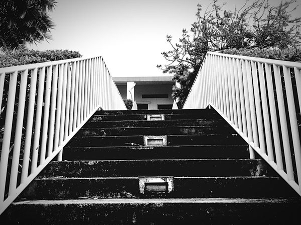 Going up. Old Buildings Blackandwhite IPhoneography
