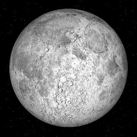 Full Moon Night Love Space