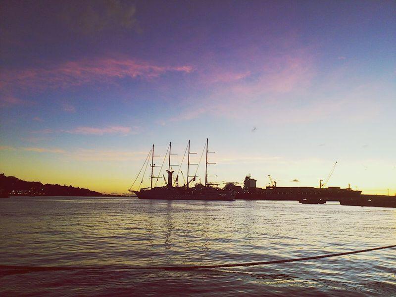 Original Experiences Papeete Tahiti Sunset Sunset Silhouette