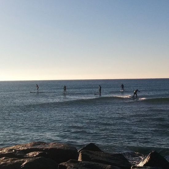 Paddelsurf Masnou Playa Cielo mediterraneo azul pedazodedia sun sol neopreno surf platja ocio