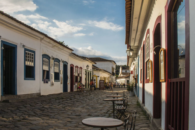 Architecture Exterior Historic Historical Center Historical City Outdoors Paraty Perspective Paraty