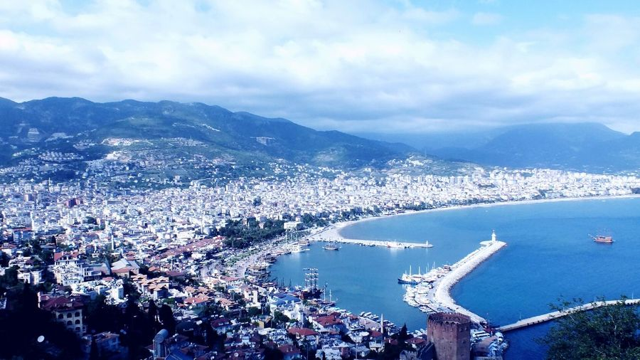 A view from Alanya Turkey
