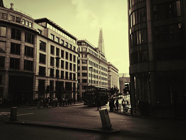 Great Britain London LONDON❤ Cannon Street Shard Blackandwhite Black My Point Of View My Photography My Passion ❤ My New Life  My Passion EyeEm Best Shots Showcase: February
