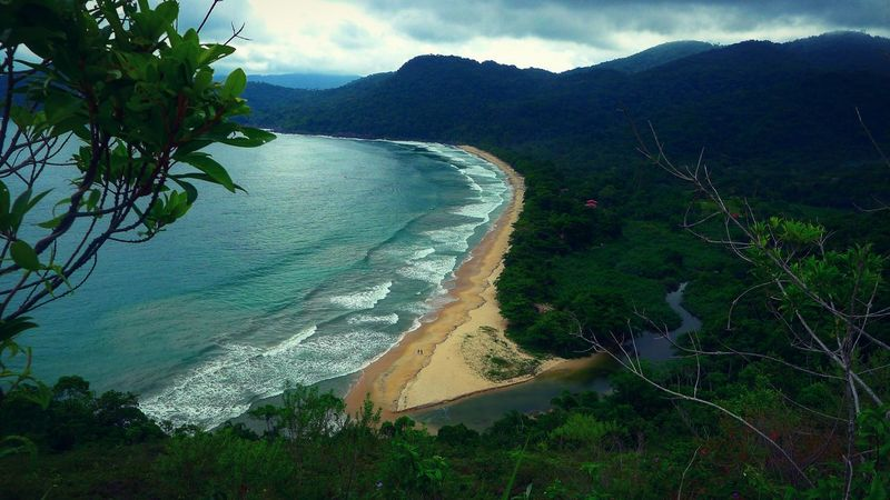 Beachphotography Beach Jungle Jungle Trekking Jungle Life Ocean Ocean View Nature Photography Naturelovers Landscape Landscape_photography Brazil ❤ Brazil Praia Do Sono Praia