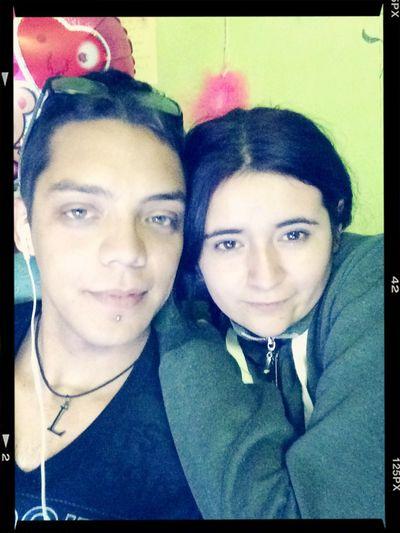 Con mi señora felices y relajados First Eyeem Photo