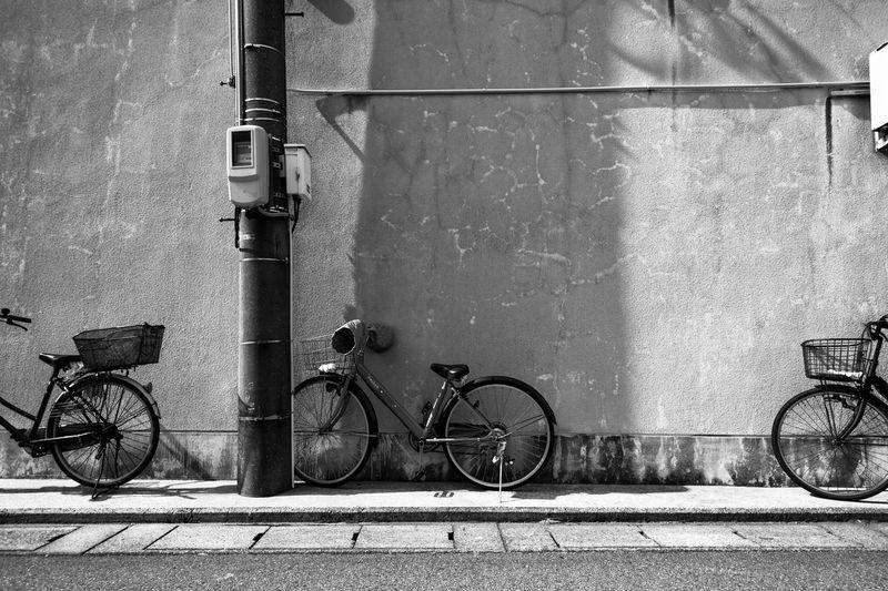 Art Artな写真 Bicycle Blackandwhite Enjoying The Sun EyeEm Best Shots Japan Landscape Monochrome Photographer Photography Streetphotography スナップ モノクロ 写真 写真家 影 日本 自転車