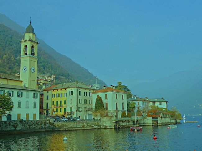 Architecture Cernobbio Como lakeChurch Famous Place Living By The Lake Mountain North Of Italy Sky Town Travel Destinations Lakeside living by the lake