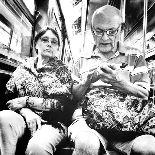 Subway G Train Streetphotography Candid