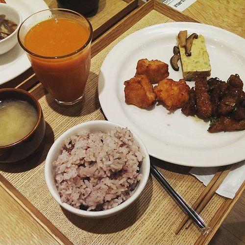 健康的晚餐!! 20150810 Muji Dinner