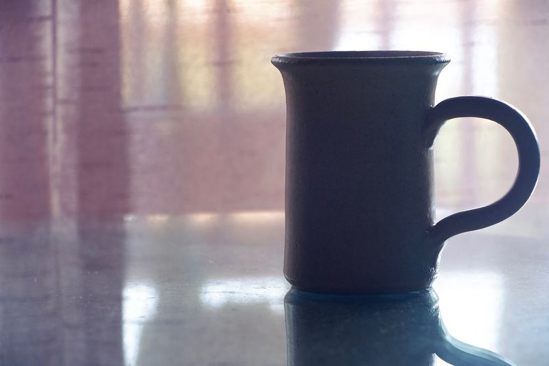 Top of the mornin to you Drink Table Mug Cup Refreshment Food And Drink Still Life No People Sunlight Indoors  Coffee Cup Close-up Focus On Foreground Day Reflection Coffee Shadow Freshness Window