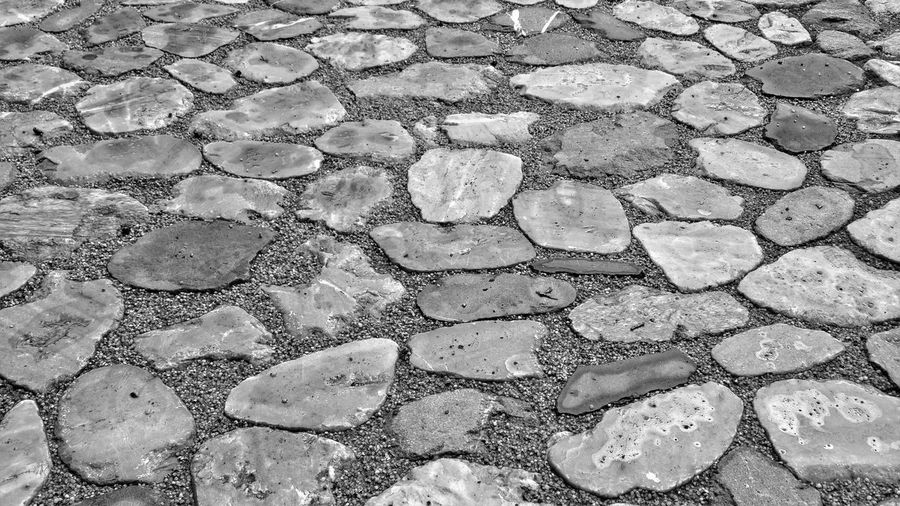 16x9 Black & White HDR Hdr_Collection Textured  Textures and Surfaces Backgrounds Blackandwhite Close-up Contrast Copplestone Day Full Frame High Contrast Monochrome monochrome photography Nature No People Outdoors Pattern Paving Stone Stone Stone Material Texture