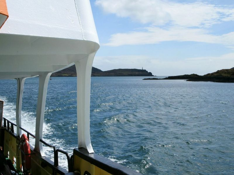 Water Sea Transportation Built Structure Mode Of Transport Sky Scenics Rippled Nature Outdoors Blue Day Tranquility Beauty In Nature Tranquil Scene Cloud - Sky No People Mountain Journey Non-urban Scene Ferry Boat Roaringwater Bay Wildatlanticway Ireland