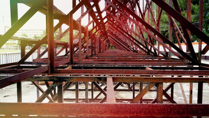 Girder Red Watermill Architecture Built Structure