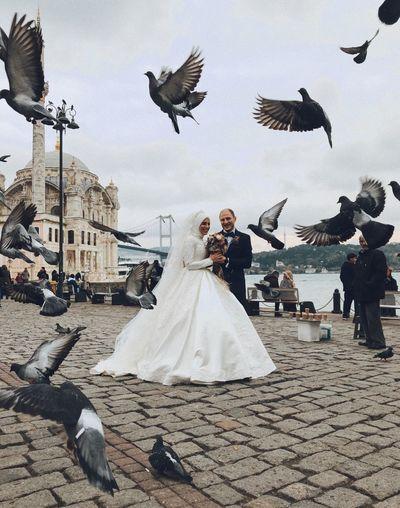 Happy Couple in