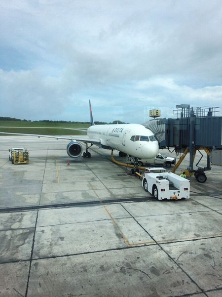 Airport Airplanes Travel Guam