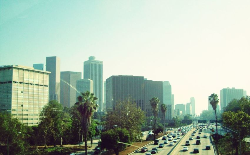 Streetphotography Buildings Freeway LAX