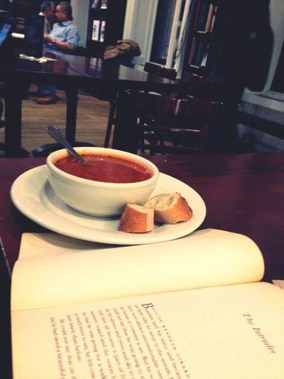 Reading Books Bookstore Soup