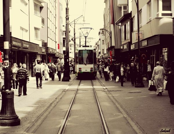 Bursa / Turkey Osmangazi Street Photography Tramway Relaxing First Eyeem Photo Canon Enjoying Life