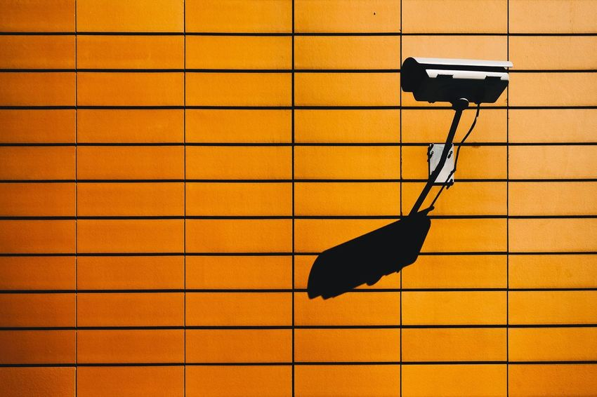 EyeEm Selects No People Shadow Tile Indoors  Technology Close-up Day Observation Security System