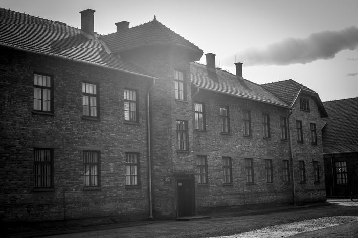 Auschwitz Auschwitz  Architecture Built Structure Building Exterior Sky Building Residential District Nature City Day No People Outdoors House Old Low Angle View Window Cloud - Sky History Sunlight The Past Façade