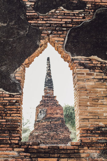 ON 26 May 2019,The old famous temple in Thailand world heritage / Wat Phrasrisanphet Architecture History Old No People Nature Outdoors Ancient Travel Landmark Building Historical Historical Monuments Buddhism Architecture Religion Culture Tourism Pagoda ASIA Asian  Brick Brick Wall Thailand Buddha Temple Ayutthaya Thai Tourist Heritage Statue Buddhist Landmarks Stupa Journey Traditional Traveller Ruins Caucasian Holiday Vacations Tourists Sculpture Landscape Famous Place Famous Attractive Unesco Historic Travellers Religious