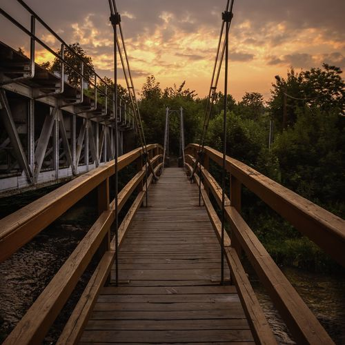 The bridge Beauty NikonD7100 View Smooth Sunset Beautiful Wood Trees Golden Hour Check This Out Nature Colors Sun Path