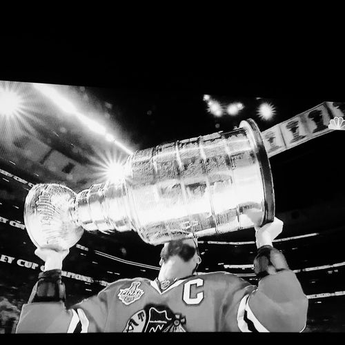 Congratulations to the Chicago Blackhawks on winning their 3rd Stanley Cup in six yrs. 🏆🏆🏆 Because It's The Cup 2015 Stanley Cup Champions Chicago Blackhawks Stanley Cup