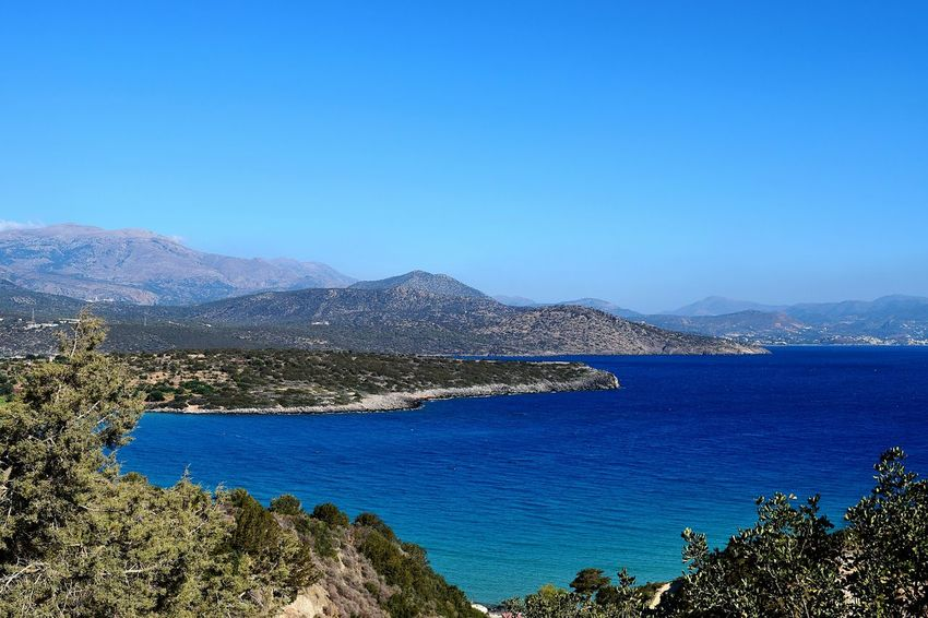 Colour Of Life Crete View Sea Traveling Travel Travel Photography Sea And Sky Seascape Mountain Blue Taking Photos Relaxing EyeEm Summer Greece Taking Pictures Taking Photos Eye4photography  Nature Nature_collection Naturelovers Nature Photography