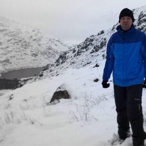 On my way up Ben Vorlich #winterwalk