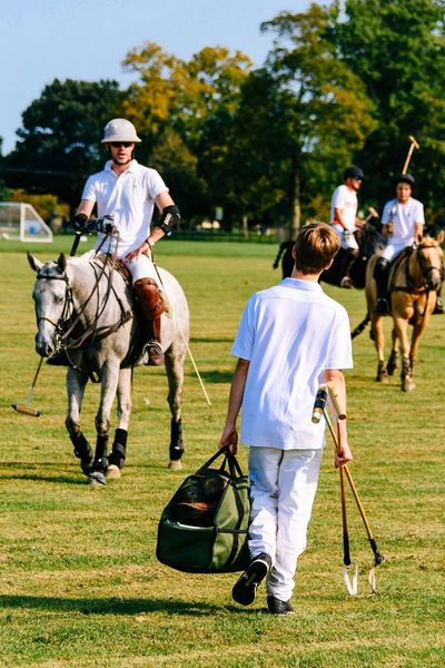 Game over Sport Polo Horse Horseback Riding Competitive Sport Outdoors Teamwork Adults Only Men Adult Males  Walking Grass Women Group Of People People Mature Adult Mammal