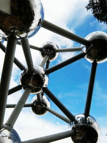 Famous Place EyeEm Brussels Belgium Ynk Atomiumbruxelles Atomium.Belgique. Monument