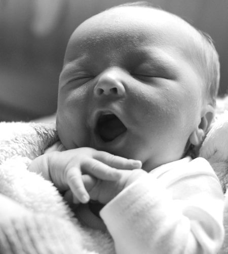 Close-Up Of Baby Boy