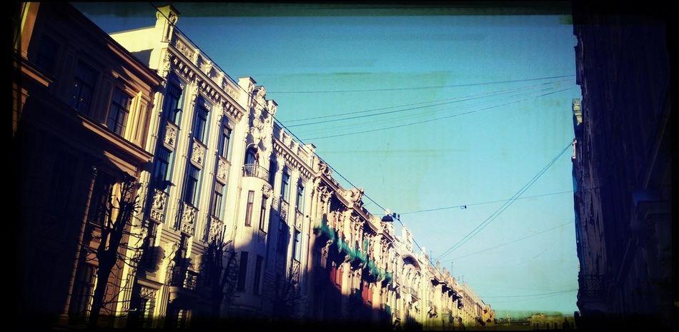 From My Window Jugendstil Riga Altbau