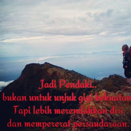 Apa betul Kaka..?? Instapict Inspirasi Indomountain Indosat_adventurer TheNorthFace Back2nature Greenpeace KPK Jejakpetualang