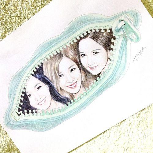 SNSD TaeTiSeo Taeny Taeyeon Tiffany Hwang Seohyun