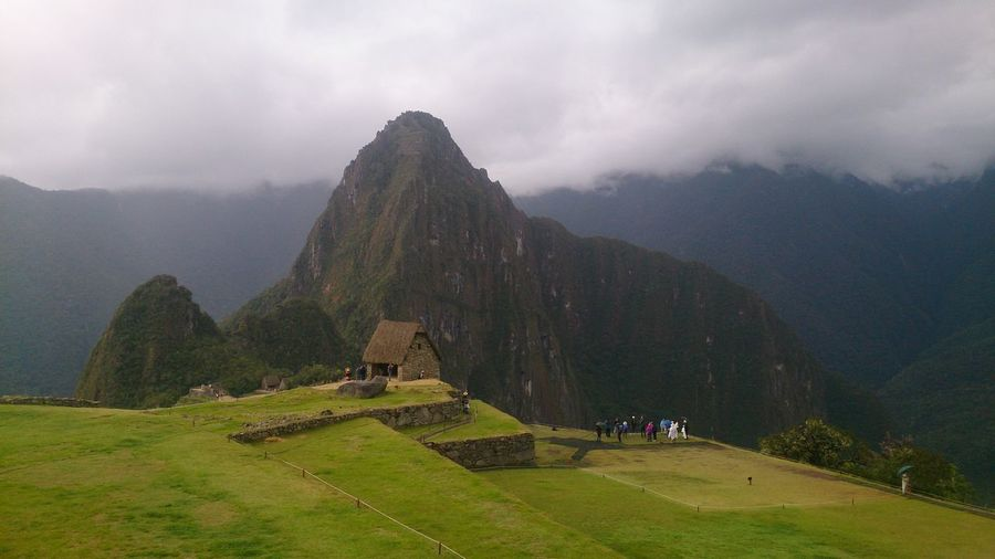 Travel Travel Destinations Tourism Fog Environment Architecture Landscape History The Past Ancient Old Ruin Mountain Sky Archaeology Machupichuview Machu Picchu Machupicchu Views,