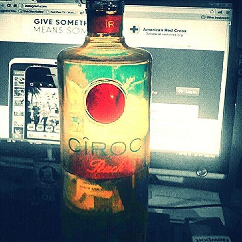 Drinkin Ciroc