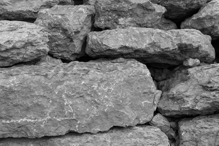 EyeEm Best Shots EyeEm Eye4photography  EyeEm Best Pics Bnw Blackandwhite Black And White Black & White Blackandwhite Photography Monochrome Backgrounds Abstract Textured  Full Frame Rock Rock - Object Close-up Rough Solid Stone - Object Outdoors Still Life Abundance Large Group Of Objects Stack