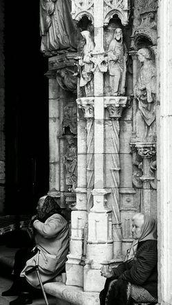 Blackandwhite Blancetnoir Bnw Lifestyles Lisbon Monastery Portugal_em_fotos Travel Photography