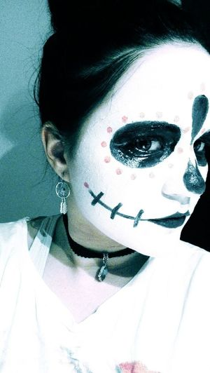 Dayofthedead Hello World Beauty Woman
