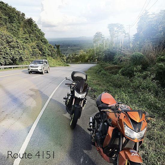 Adventureride Krabi Thailand Route4151 Phattalung Z750