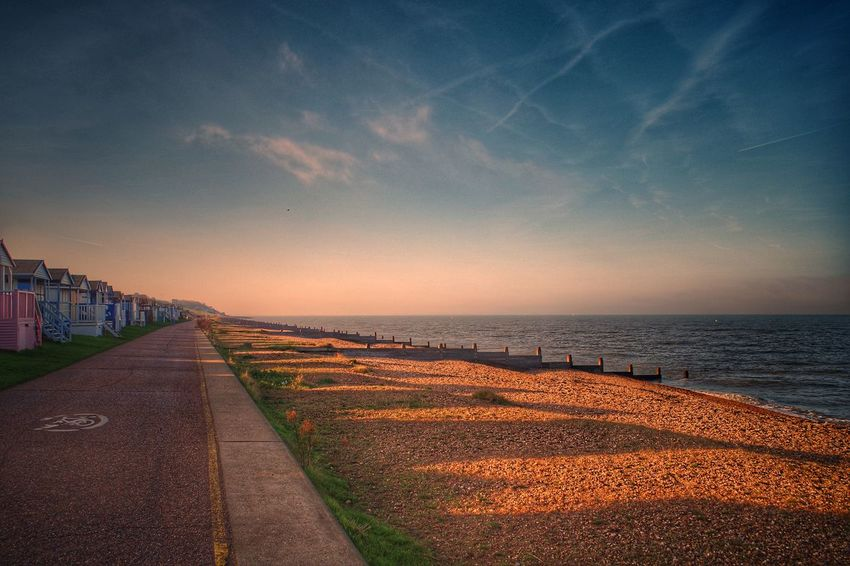 Sunset Beach Sea Sky Horizon Over Water Outdoors Cloud - Sky No People Vacations Summer Travel Destinations Scenics Landscape Day Beauty In Nature Nature City Close-up EyeEM Beach Photography Shades Of Winter